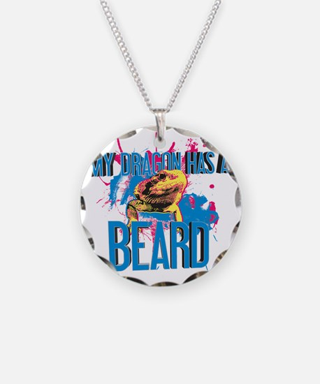 Bearded Dragon - My Dragon H Necklace