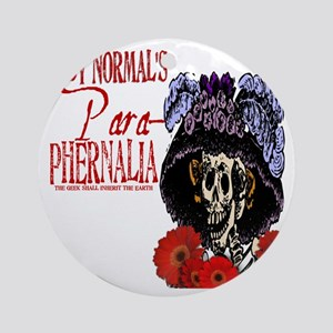Abby Normals Para-phernalia Logowea Round Ornament