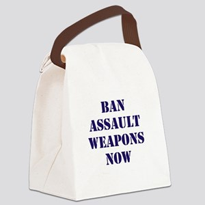 Ban Assault Weapons Now Canvas Lunch Bag