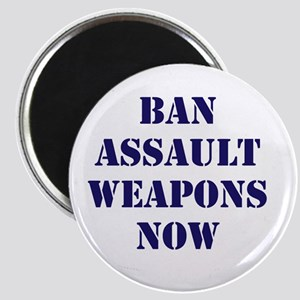 Ban Assault Weapons Now Magnet