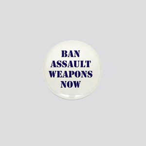 Ban Assault Weapons Now Mini Button