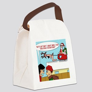 Inflatable Decorations Gag T-shir Canvas Lunch Bag