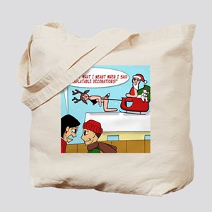 Inflatable Decorations Gag T-shirt Tote Bag