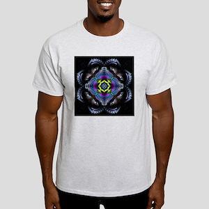 Dark Leather Fractals Light T-Shirt
