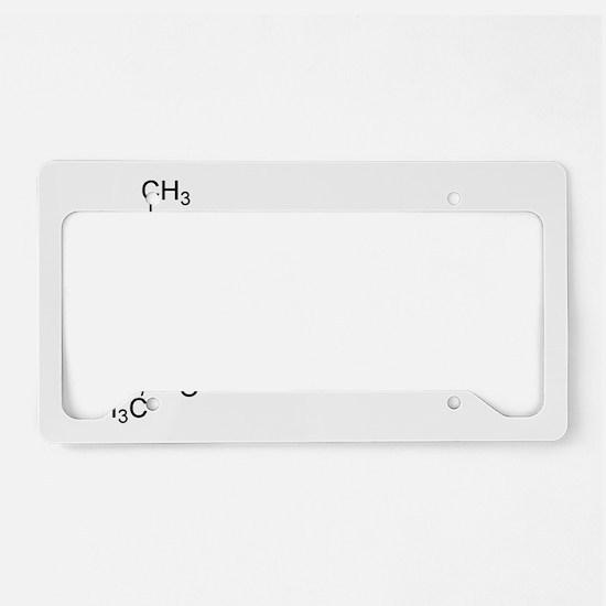 THC Symbol (Tetrahydrocannabi License Plate Holder