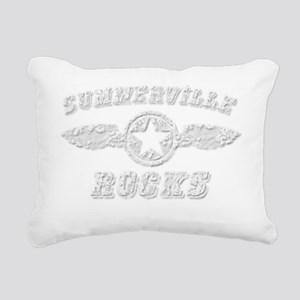 SUMMERVILLE ROCKS Rectangular Canvas Pillow