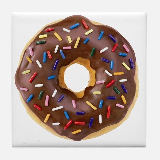 Doughnut Lovers Tile Coaster