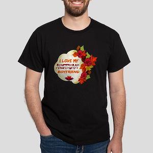 Austrian Boyfriend designs Dark T-Shirt