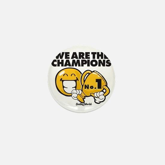We are the champions Mini Button