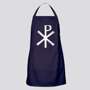 Chi Rho (XP Christogram) Apron (dark)