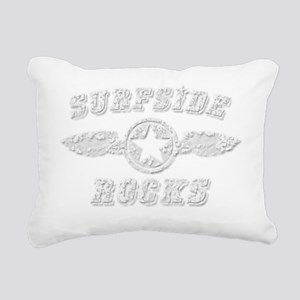 SURFSIDE ROCKS Rectangular Canvas Pillow