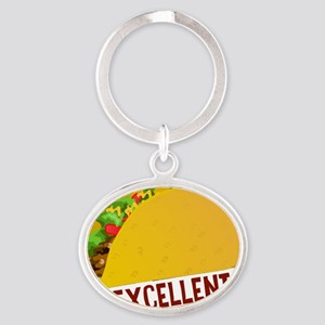 Mexcellent Oval Keychain