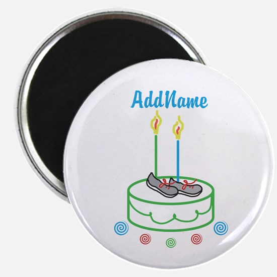 CUSTOMIZE Sports Birthday Magnets