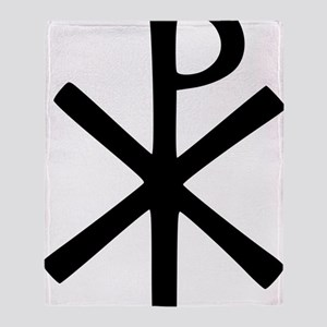 Chi Rho (XP Christogram) Throw Blanket