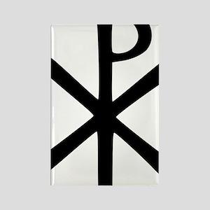 Chi Rho (XP Christogram) Rectangle Magnet