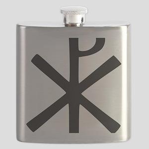 Chi Rho (XP Christogram) Flask