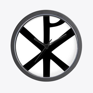 Chi Rho (XP Christogram) Wall Clock