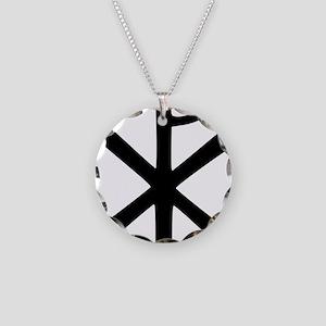 Chi Rho (XP Christogram) Necklace Circle Charm