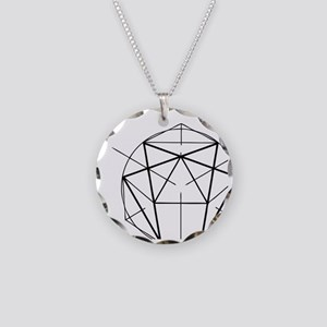 Enneagram Necklace Circle Charm