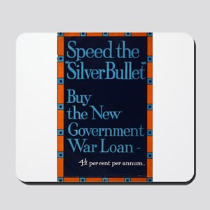 Speed The Silver Bullet - anonymous - 1915 - Poste