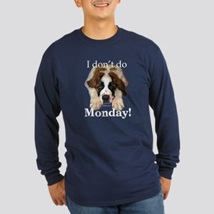 Saint Monday Long Sleeve Dark T-Shirt