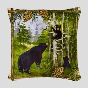 Best Seller Bear Woven Throw Pillow