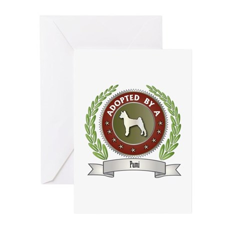 Pumi Adopted Greeting Cards (Pk of 10)