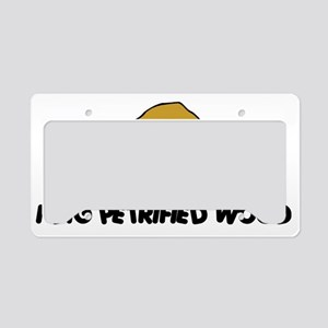 rock38light License Plate Holder