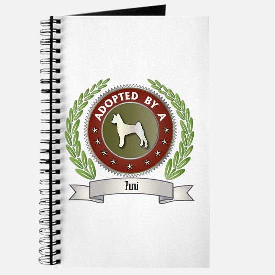Pumi Adopted Journal