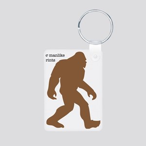 Definition of Bigfoot Aluminum Photo Keychain