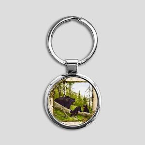 Best Seller Bear Round Keychain