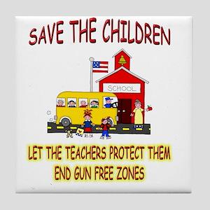 Save The Children Tile Coaster