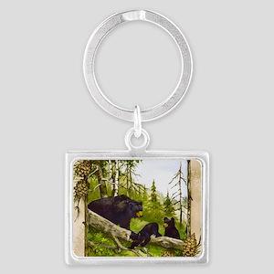 Best Seller Bear Landscape Keychain