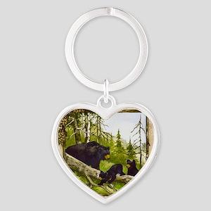 Best Seller Bear Heart Keychain