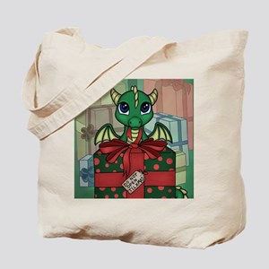 Baby Dragon XMAS Tote Bag
