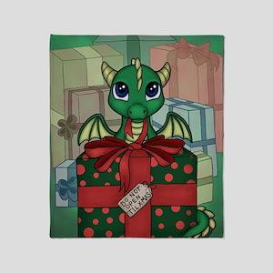 Baby Dragon XMAS Throw Blanket