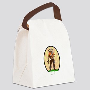 rock42dark Canvas Lunch Bag