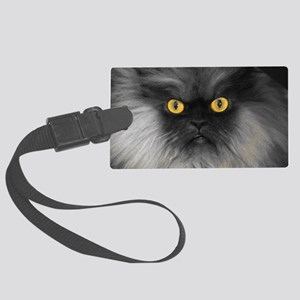 Yellow Eyes Large Luggage Tag