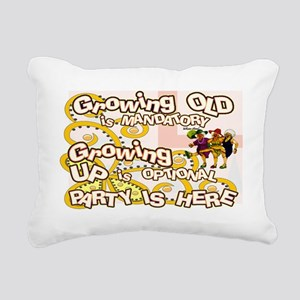 growing old women party Rectangular Canvas Pillow