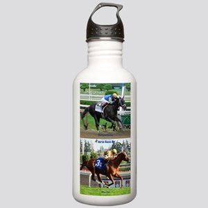 Horse Racing Notebook Stainless Water Bottle 1.0L