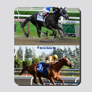 Horse Racing Notebook Mousepad