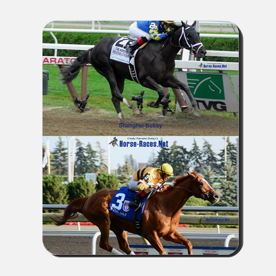 Horse Racing Notebook Mousepad