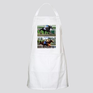 Horse Racing Notebook Apron