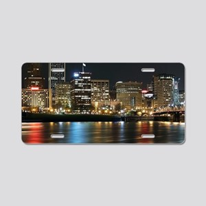 pdx 1.22 Aluminum License Plate