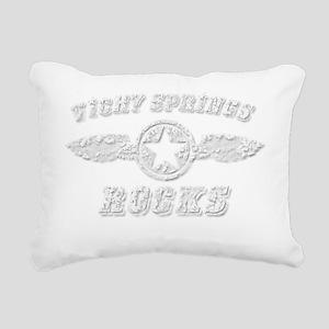 VICHY SPRINGS ROCKS Rectangular Canvas Pillow