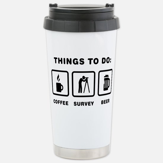 Land-Surveyor-ABH1 Stainless Steel Travel Mug
