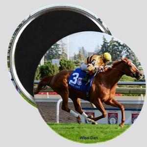 Horse Racing Clock Magnet