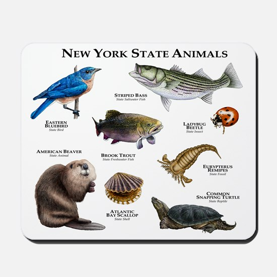 New York State Animals Mousepad