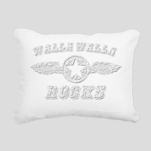 WALLA WALLA ROCKS Rectangular Canvas Pillow