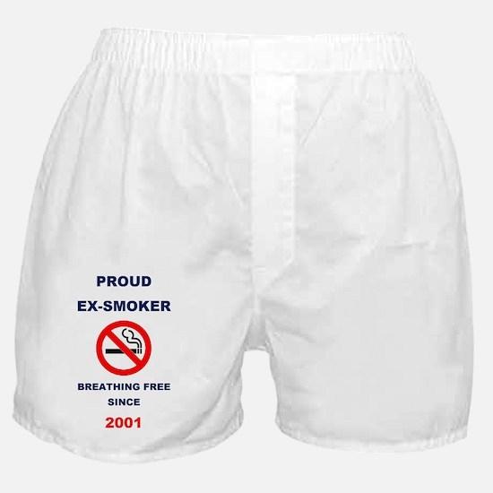 Proud Ex-Smoker  - Breathing Free Sin Boxer Shorts